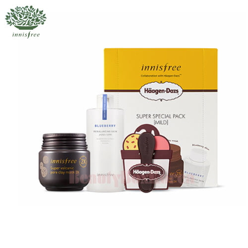 INNISFREE Super Special Pack X Haagen-Dazs 3items [MILD],INNISFREE